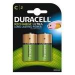 Acumulatori Duracell C, 2200mAh, 2 bucati