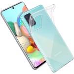 Husa Spate Silicon Ultra Slim Upzz Compatibila Cu Samsung Galaxy A51 Transparenta
