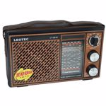 Radio portabil Leotec LT-2016, 12 benzi, curea mana (Maro)