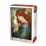 Puzzle Dante Gabriel Rossetti - Proserpine, 1000 piese