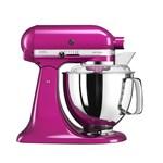 Mixer cu bol Artisan Elegance 5KSM175PSERI, 4,8 L, Raspberry Ice, 300W, KitchenAid