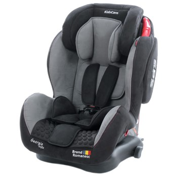 Scaun Auto Georgia cu Isofix Top Tether Gri 9-36 Kg