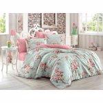 Set lenjerie pentru pat dublu Eponj Home, 143EPJ1886, Multicolor