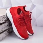 Pantofi barbatesti sport rosii Yulin