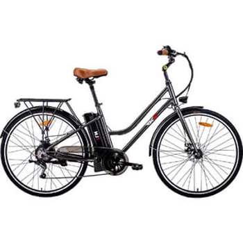 Bicicleta asistata electric MYRIA City Traveller MJ1, 29 inch, negru