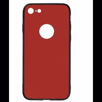 Husa Cover Tellur Glass DUO iPhone 8 Red tll121364