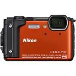 Aparat Foto Compact Nikon Coolpix W300 16MP Holiday Kit Portocaliu vqa071k001