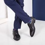 Pantofi barbati Piele Jonnen negri eleganti