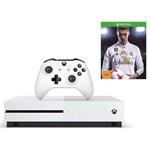 Consola Xbox One S 500GB, alb + Forza Horizon 3 + Hot Wheels DLC