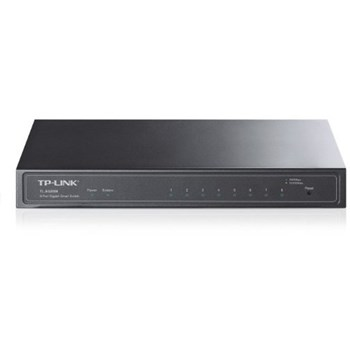 Switch TP-LINK TL-SG2008, 8 porturi 10/100/ 1000 Mbps (include timbru verde 1 leu)