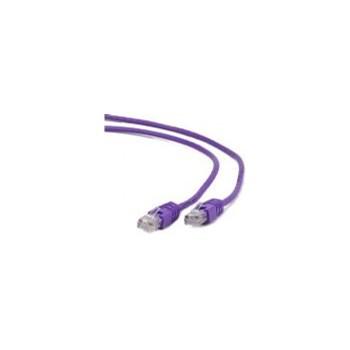 Cablu FTP Gembird PP6-0.25M/V, Patchcord CAT.6, 0.25m (Violet)