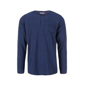 Tricou cu maneca lunga bleumarin de la Dstrezzed