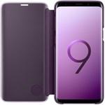 Husa Clear View Standing Samsung Galaxy S9 Plus G965 Purple ef-zg965cvegww