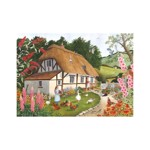 Puzzle The House of Puzzles - Pretty As A Picture, 500 piese XXL (The-House-of-Puzzles-4913)