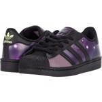 Incaltaminte Fete adidas Kids Superstar (Little Kid) Core BlackCore BlackGlory Purple