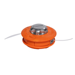 Tambur motocoasa cu buton metalic Micul Fermier, fir 1.3 - 4 mm, functie Easy Feed