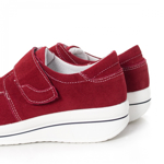 Pantofi dama Piele Alassy rosu inchis -rl