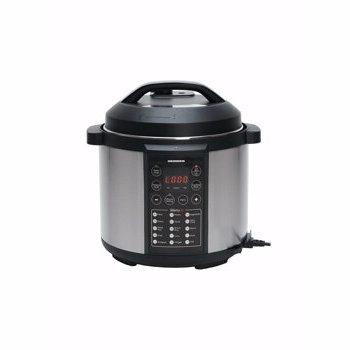 Multicooker cu gatire la presiune Heinner HPCK-6IX, capacitate neta de gatire 4.5L, las antiaderent