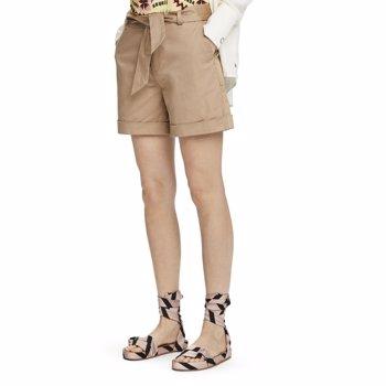 Pantaloni scurti chino cu buzunare oblice