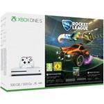 Consola MICROSOFT Xbox One S 500 GB, alb + Joc Rocket League (Cod download)