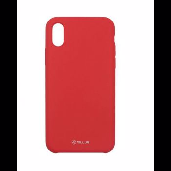 Husa Protectie Spate Tellur Silicon Rosu pentru Apple iPhone XS