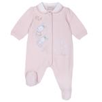Salopeta pentru bebe Chicco, botosei, roz, 21943