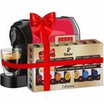 Pachet Espressor TCHIBO Cafissimo Easy Red + 70 capsule Caffisimo Classic Collection 392852, 0.65l, 1250W, rosu-negru