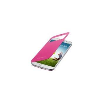 Husa Samsung S-View Cover EF-CI950BPEGWW pentru Galaxy S4 i9505/i9500 (Roz)