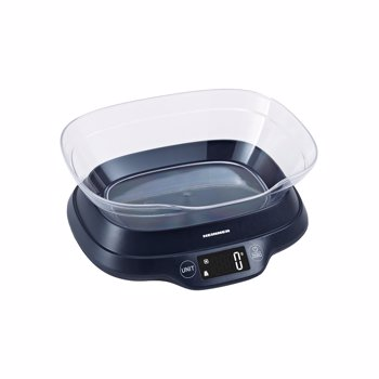 Cantar de bucatarie cu bol , 5 Kg, 1 g, touch control, tara, functie cantarire lichide, display LCD, bol plastic