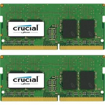 Kit Memorie Laptop Crucial 2x16GB DDR4 2400MHz CL17 Dual Rank x8 Dual Channel ct2k16g4sfd824a