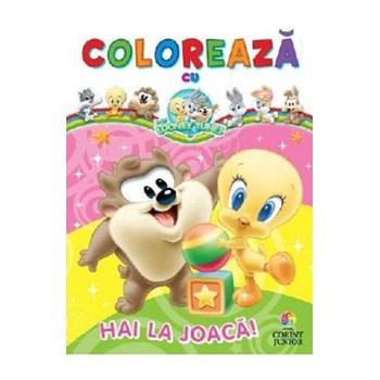 Dulciuri şi jucării! Colorează cu Baby Looney Tunes