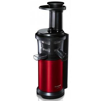 Storcator de fructe si legume cu melc Panasonic MJ-L500RXE 150 W Recipient suc 1.5 l Recipient pulpa 2 l Rosu/Negru