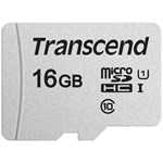 Card memorie Transcend microSDHC USD300S 16GB CL10 UHS-I U1 Up to 95MB/S