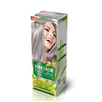 Vopsea permanenta par Loncolor Natura, 10.19 Blond argintiu