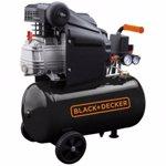 BlackDecker Compresor BD 205/24, 24 l, 2 CP, 8 Bar