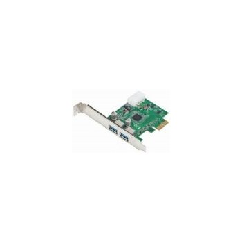 Adaptor Gembird UPC-30-2P, PCI-E la 2 x USB 3.0
