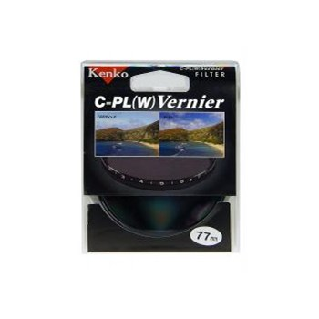 Filtru Kenko Vernier Polarizare Circulara 77mm