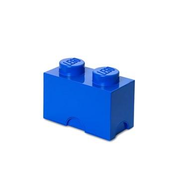 Cutie depozitare LEGO 1x2 albastru inchis (40021731)