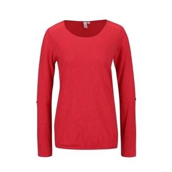 Bluza rosie s.Oliver cu detaliu