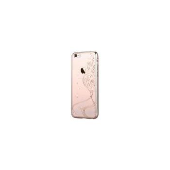 Husa iPhone 6 6S Crystal Secret Garden Champagne Gold dvsgiph6cg