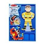 Set magnetic Sa-l imbracam pe Joey Melissa and Doug md3550