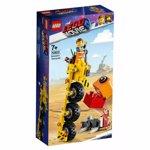 LEGO Movie 2 Tricicleta lui Emmet, 70823, 7+