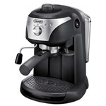 Espressor manual DeLonghi EC221.B, 1050 W, 1 L, 15 bar, Negru