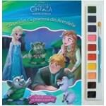 Sa pictam cu prietenii din Arendelle - Carte de colorat cu pensula si acuarele 978-606-33-1247-2