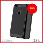 Husa Capac spate Dot Negru Apple iPhone 7 Plus, iPhone 8 Plus