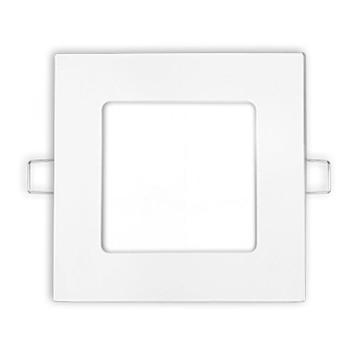Spot LED patrat, montaj incastrat, 6W, 6500 K, 360 LM, PANASONIC