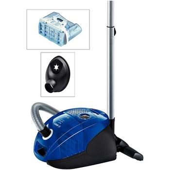 Bosch Aspirator cu sac & fara sac BSGL3B2208, 4 l, Tub metalic telescopic, 650 W, Filtru PureAir, Albastru