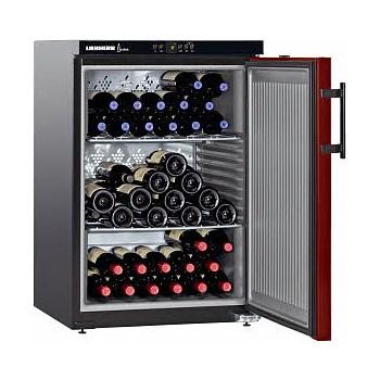 Liebherr Vitrina de vin WKr 1811, 128 l, Clasa A+, Negru