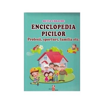 Enciclopedia picilor: Profesii, sporturi, familia