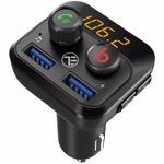Modulator FM Bluetooth Tellur FMT-B8 USB MicroSD Negru tll622071